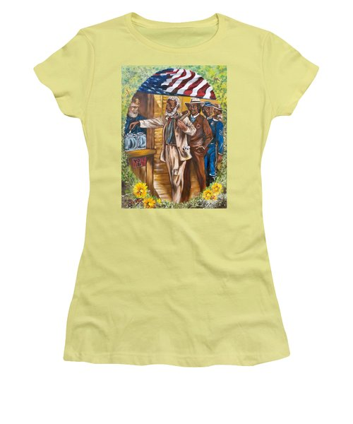 The First Vote - 1867 Women's T-Shirt (Junior Cut) by Sigrid Tune