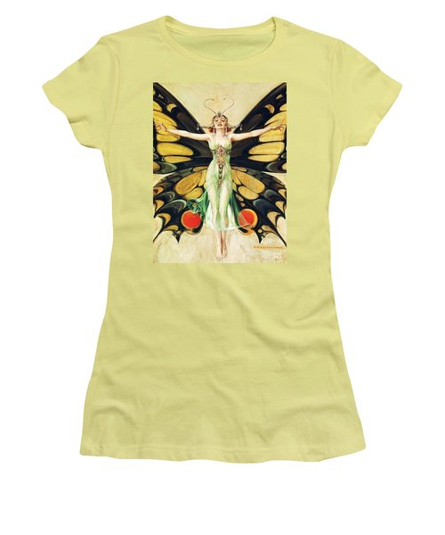 The Flapper Women's T-Shirt (Junior Cut) by Pg Reproductions