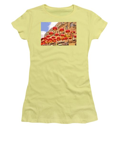 Women's T-Shirt (Junior Cut) featuring the photograph The Flying Dragon by Uri Baruch