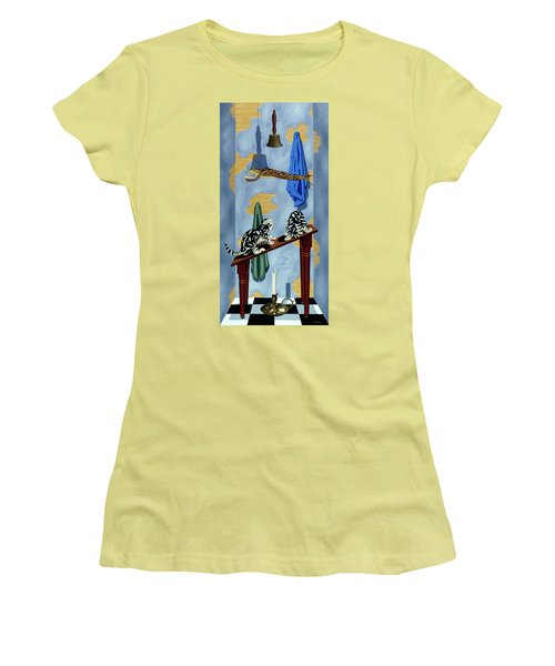 The Flying Frog Women's T-Shirt (Junior Cut)