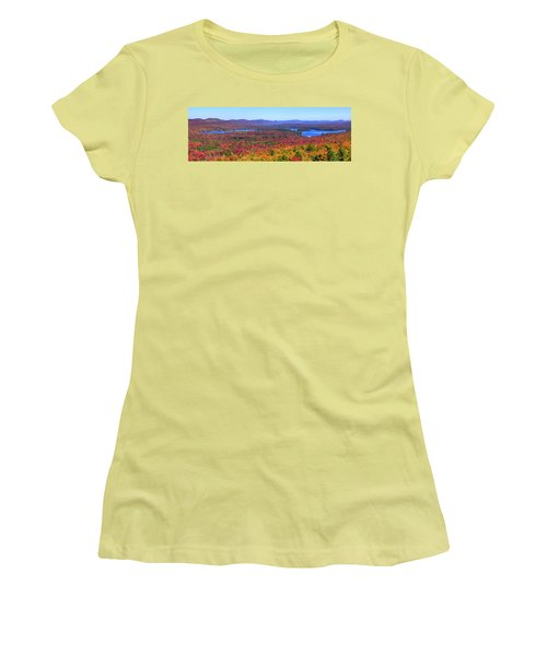 The Fulton Chain Of Lakes Women's T-Shirt (Athletic Fit)