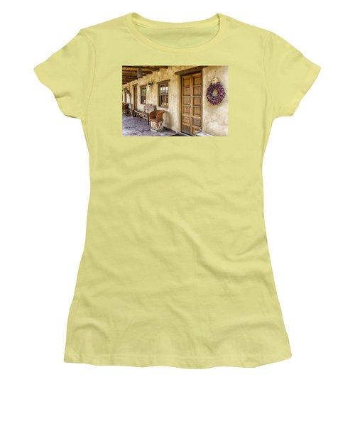 The Gage Hotel Women's T-Shirt (Junior Cut) by Kathy Adams Clark