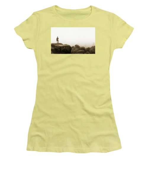The General's View Women's T-Shirt (Athletic Fit)