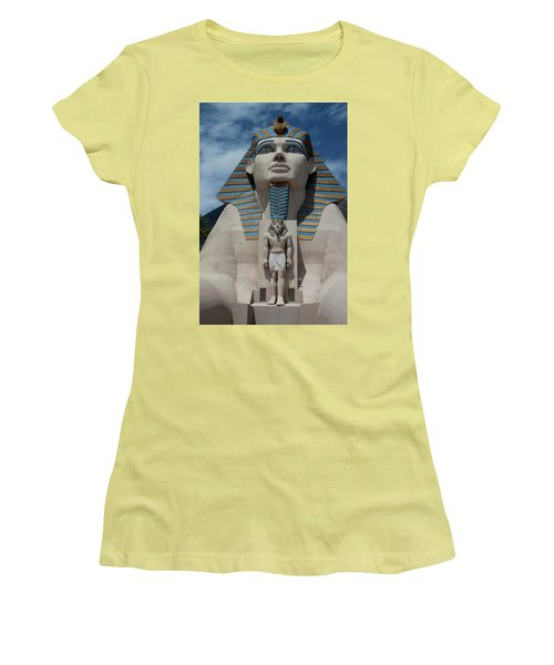 The Great Sphinx Women's T-Shirt (Athletic Fit)