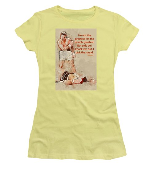 The Greatest Women's T-Shirt (Athletic Fit)