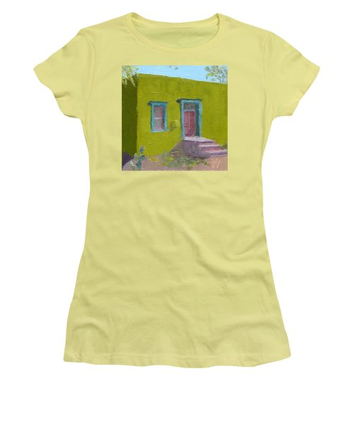 The Green House Women's T-Shirt (Athletic Fit)