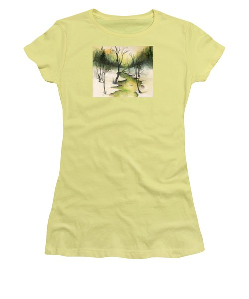The Greenwood Women's T-Shirt (Athletic Fit)