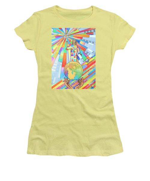 The Guiding Light Women's T-Shirt (Athletic Fit)