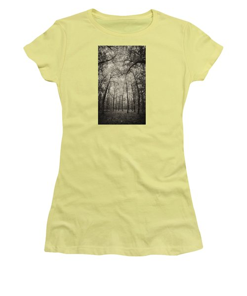 The Hands Of Nature Women's T-Shirt (Junior Cut) by Stavros Argyropoulos