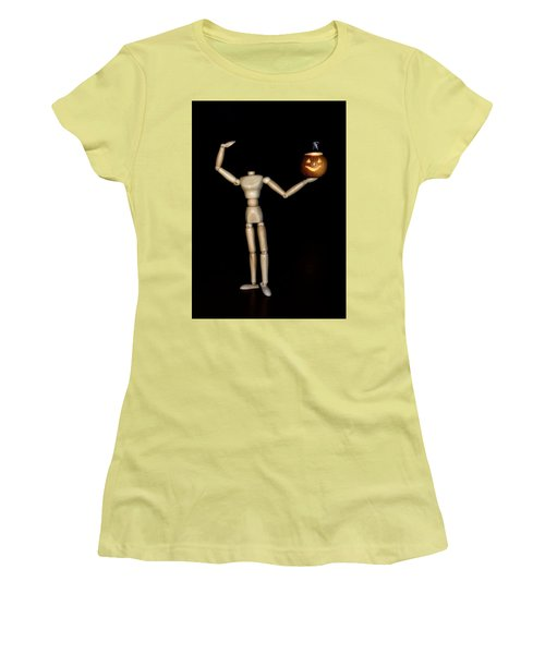 The Headless Woody Women's T-Shirt (Junior Cut) by Mark Fuller