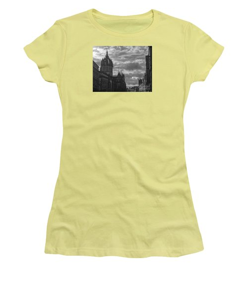 The High Kirk Of Edinburgh Women's T-Shirt (Athletic Fit)