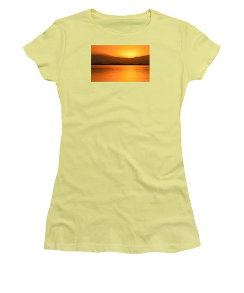 The Hour Is Golden Women's T-Shirt (Athletic Fit)