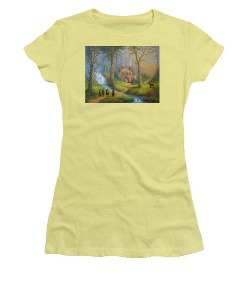 The House Of Tom Bombadil.  Women's T-Shirt (Junior Cut) by Joe  Gilronan