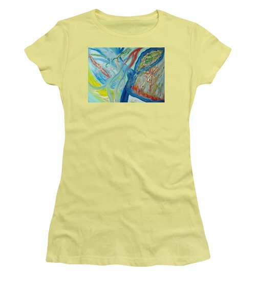 The Invisible World Women's T-Shirt (Athletic Fit)