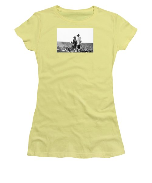 The Journey Of Fishermen Women's T-Shirt (Athletic Fit)