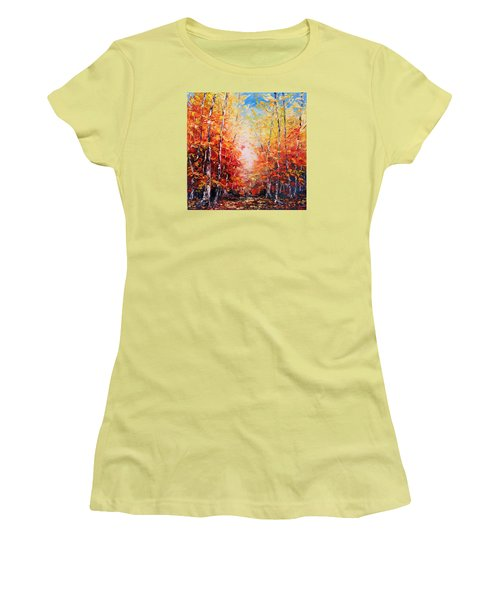 The Joy Ahead Women's T-Shirt (Athletic Fit)