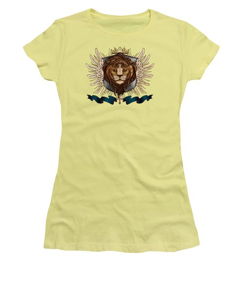 The King's Heraldry II Women's T-Shirt (Junior Cut)