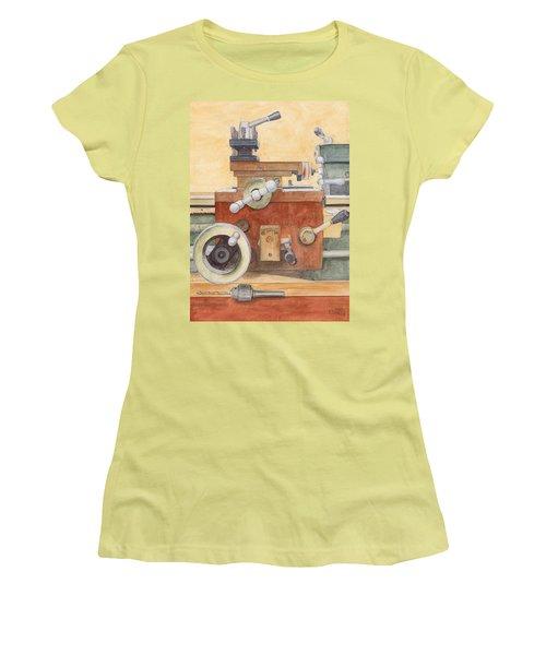 The Lathe Women's T-Shirt (Athletic Fit)