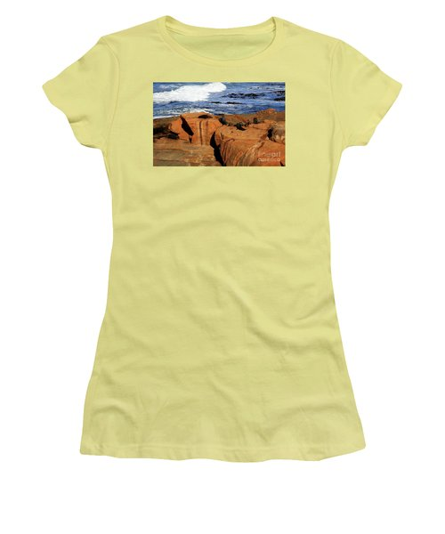 The Lazy Lounging Seals Women's T-Shirt (Athletic Fit)