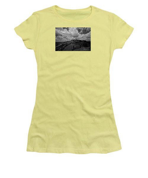 The Light House Women's T-Shirt (Junior Cut) by Gary Bridger