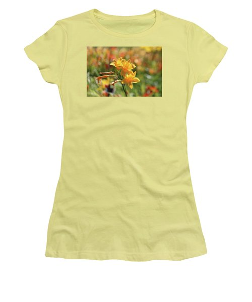 The Lilies Arrayed Women's T-Shirt (Athletic Fit)