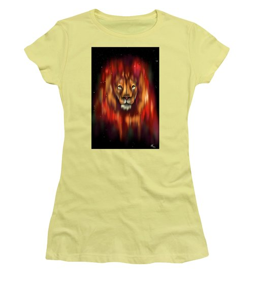 The Lion, The Bull And The Hunter Women's T-Shirt (Athletic Fit)