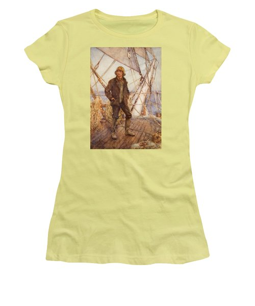 The Lookout Man  Women's T-Shirt (Athletic Fit)