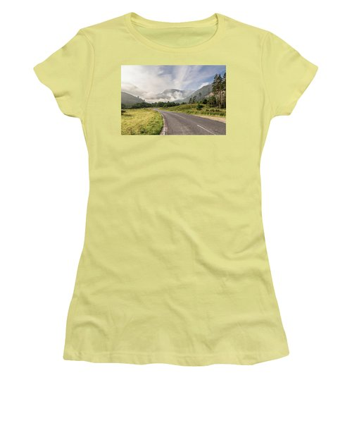 Women's T-Shirt (Junior Cut) featuring the photograph The Magic Morning by Sergey Simanovsky
