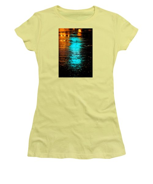 Women's T-Shirt (Junior Cut) featuring the photograph The Memory Lane II by Prakash Ghai