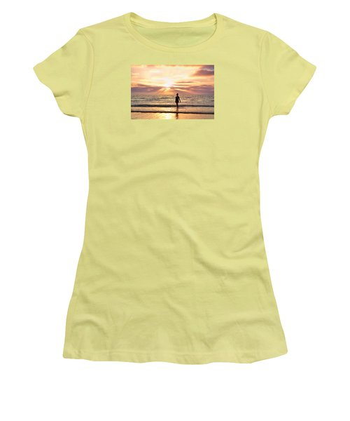 The Mermaid Women's T-Shirt (Junior Cut) by Rima Biswas