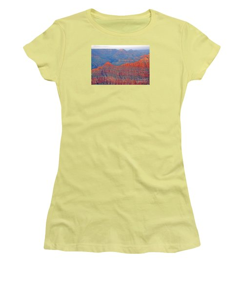 The Mighty Grand Canyon Women's T-Shirt (Athletic Fit)