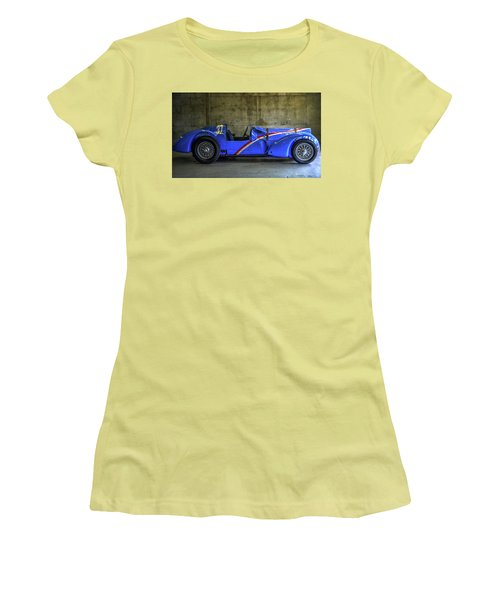 The Million Franc Car Women's T-Shirt (Athletic Fit)
