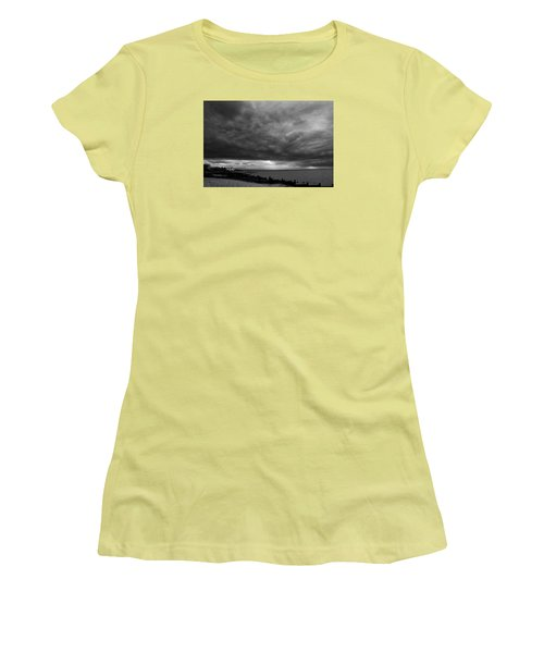 The Neptune Whitstable Women's T-Shirt (Junior Cut) by David French