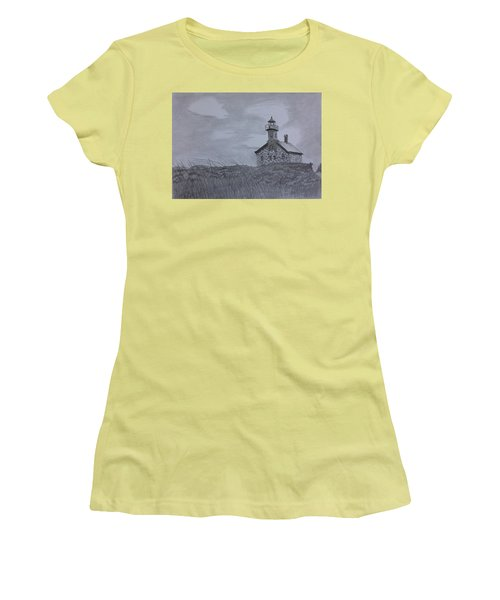 The North  Light  Women's T-Shirt (Junior Cut) by Tony Clark