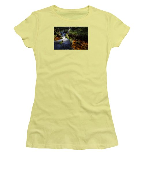 the Oder in the Harz National Park Women's T-Shirt (Junior Cut) by Andreas Levi