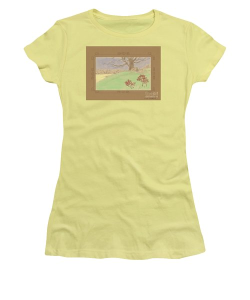 The Old Gully Tree Women's T-Shirt (Athletic Fit)