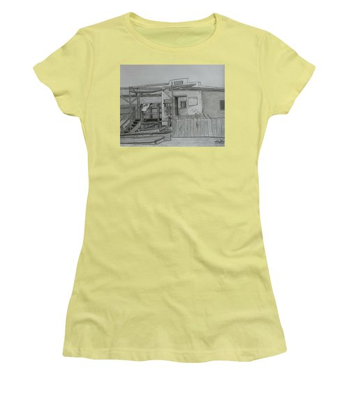The Old  Jail  Women's T-Shirt (Junior Cut) by Tony Clark