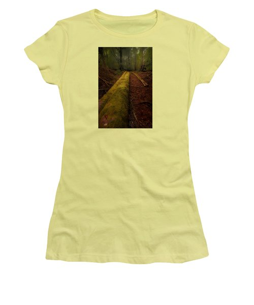 The Old Mossy Trunk Women's T-Shirt (Junior Cut)