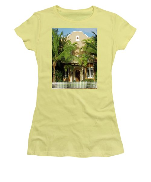 The Old Sunset House. Women's T-Shirt (Athletic Fit)