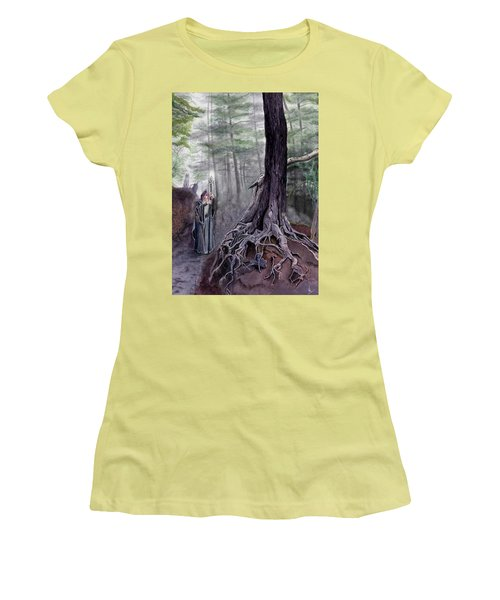 The One-eyed Wanderer Women's T-Shirt (Athletic Fit)