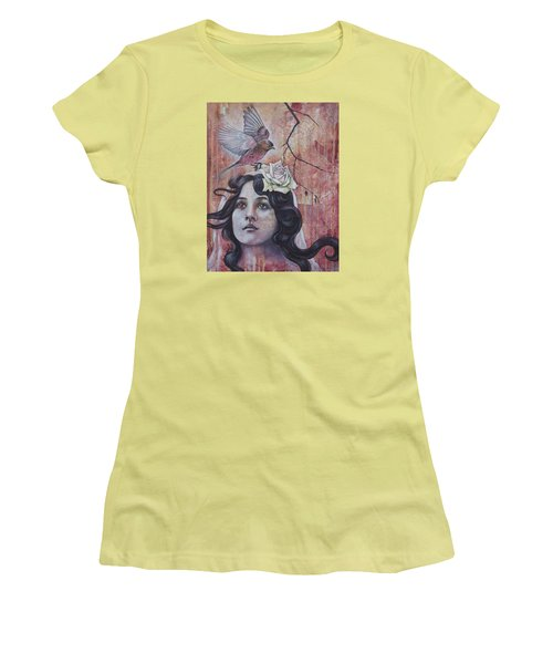 The Oracle Women's T-Shirt (Junior Cut) by Sheri Howe