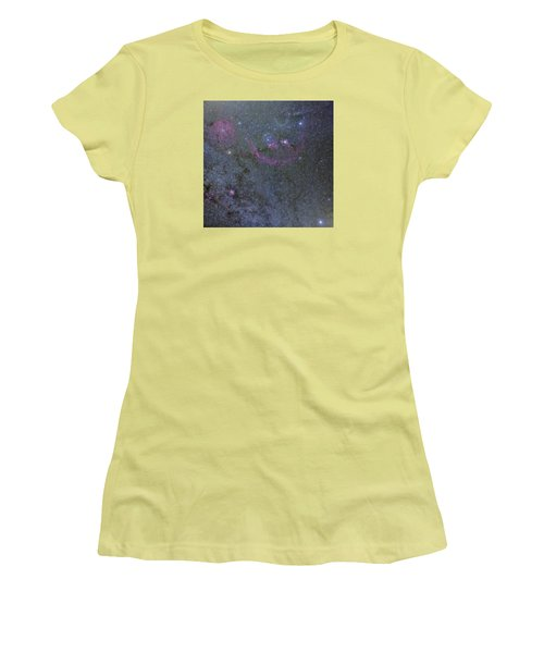 Women's T-Shirt (Junior Cut) featuring the photograph The Orion Complex by Charles Warren