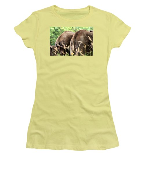 The Other Side Women's T-Shirt (Junior Cut) by Angela Rath