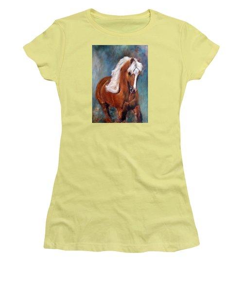 The Palomino 2 Women's T-Shirt (Junior Cut) by Barbie Batson