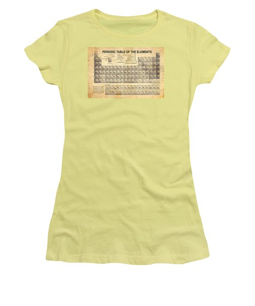 The Periodic Table Women's T-Shirt (Junior Cut) by Olga Hamilton