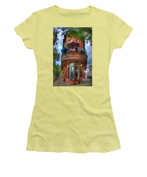 The Pickle Barrel Chattanooga Tn Women's T-Shirt (Junior Cut) by Reid Callaway