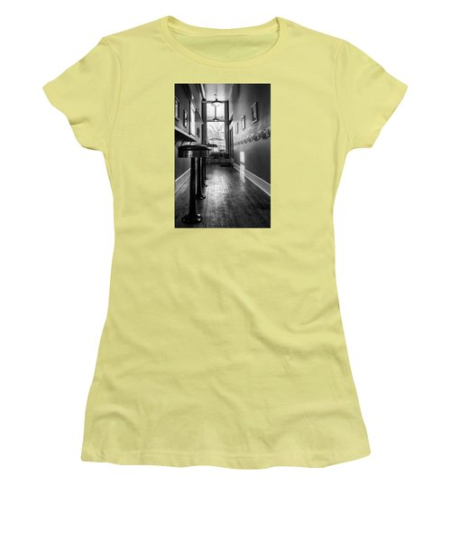 The Pie Shop Women's T-Shirt (Junior Cut) by Dan Traun