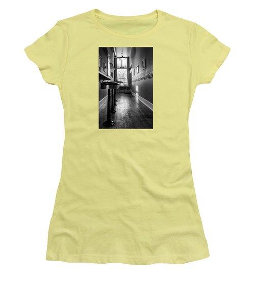 Women's T-Shirt (Junior Cut) featuring the photograph The Pie Shop by Dan Traun