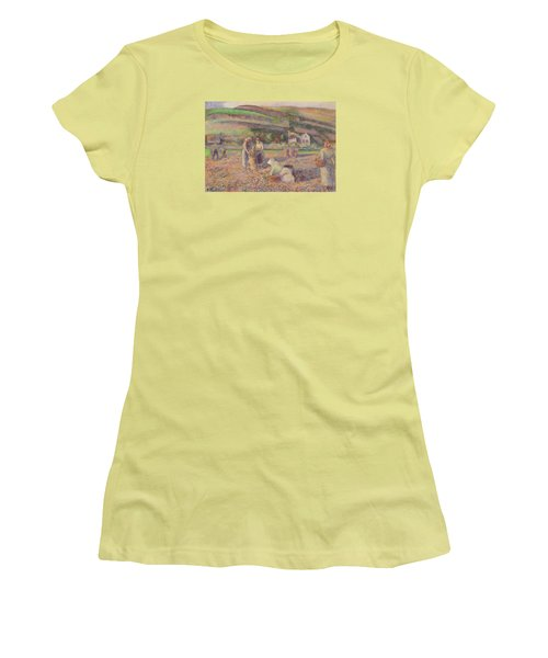 The Potato Harvest Women's T-Shirt (Athletic Fit)