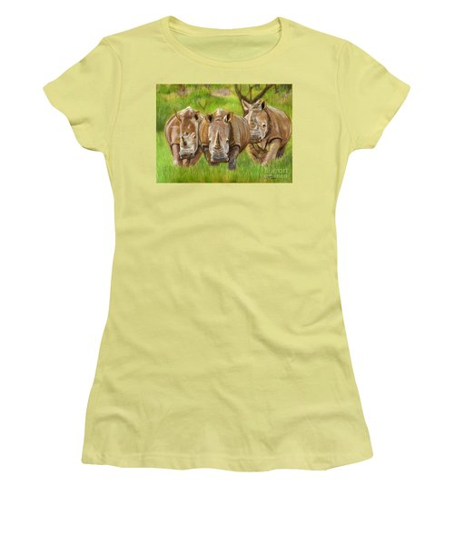 The Power In Three Women's T-Shirt (Athletic Fit)